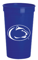 Pepsi soda club cup sample with PSU lion logo